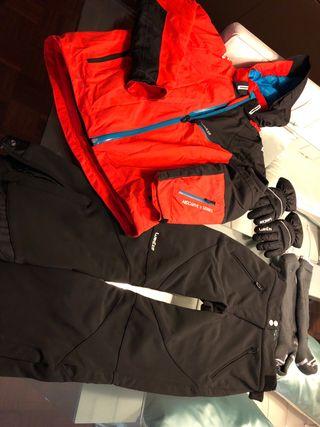 Conjunto esquiar niño talla 8