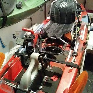 kayak jackson coosa fd, a pedales