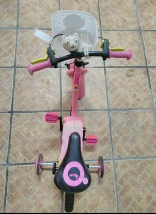 Bicicleta niña 3-5años