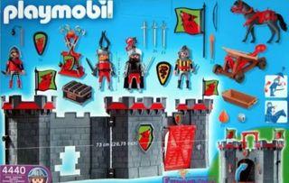 Castillo maletín Playmobil, Playmobil 4440
