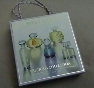 Cofre perfumes miniaturas Estée Lauder