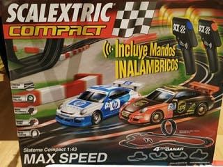 Scalextric Compact,Max speed.