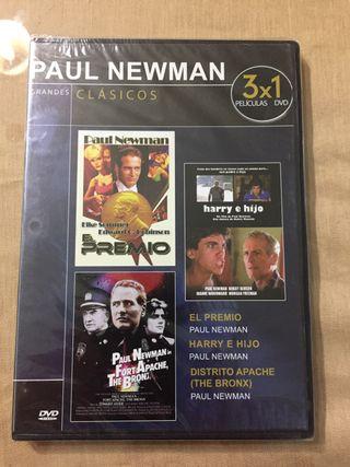 Grandes clásicos. Paul Newman. 3x1