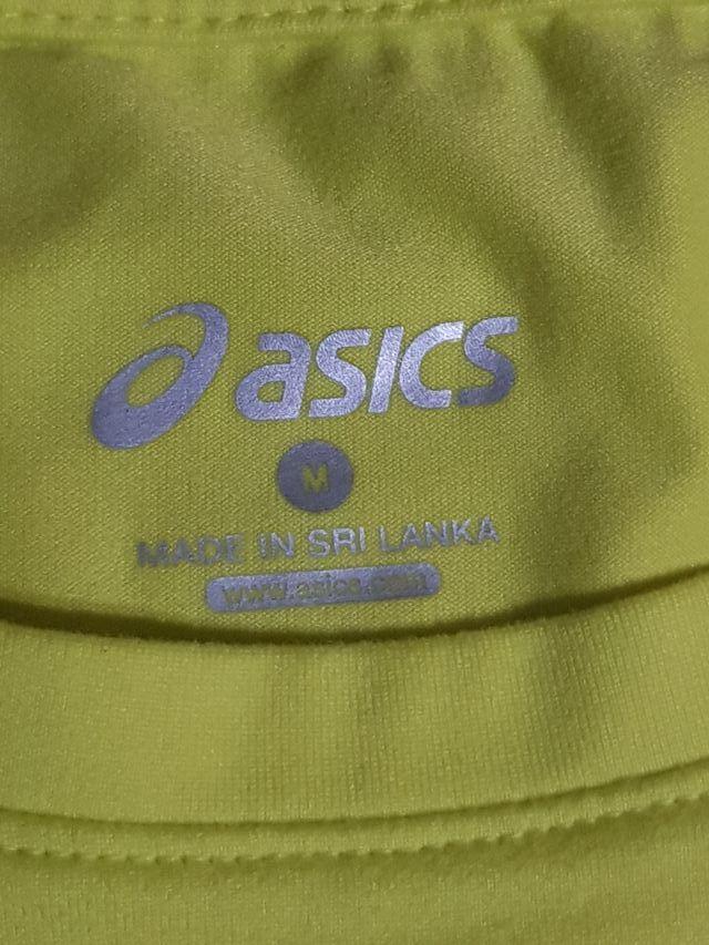 Camiseta marca Asics deporte hombre chico talla M