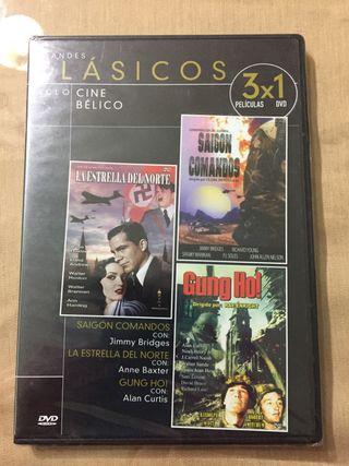 Grandes clásicos Cine bélico 3x1