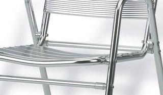 Silla Aluminio para Exterior y Apilable