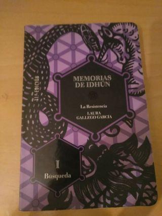LIBRO MEMORIAS DE IDHÚN
