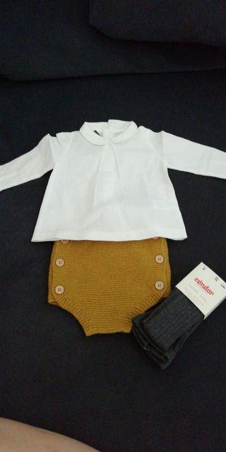 Traje de vestir bebé Gocco