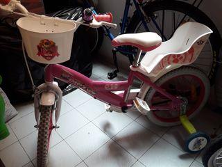 bicicleta de la patrulla Skye
