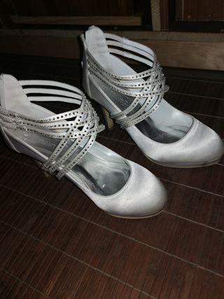 zapatos de novia de segunda mano en ferrol en wallapop