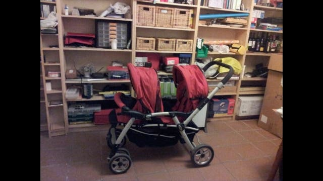 carrito gemelar twin two Jane
