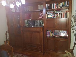 Mueble de salón (estantería y tv)