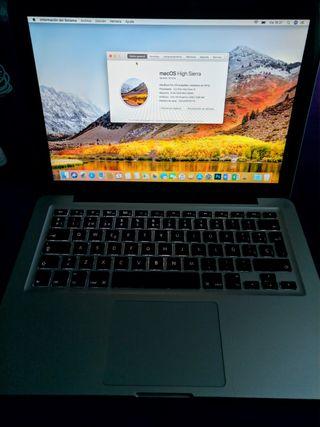 MacBook Pro 13 Corei5, 8GB DDR3, 500GB HDD.