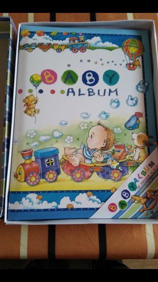 Libro nacimiento bebe