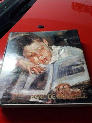 libro de pinturas de banco de Sabadell