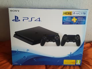 Ps4 slim 1tb dos mandos