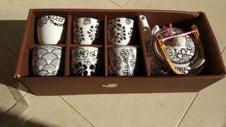 Juego de té+tetera japonés