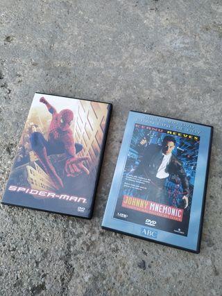 2 películas DVD originales