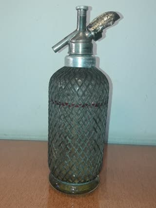 Botella Sifon antiguo