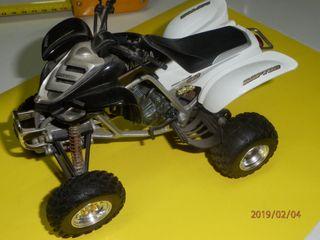 Maqueta moto quads
