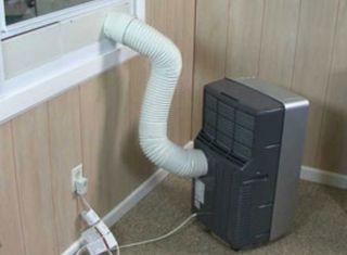 Aire acondicionado portatil.