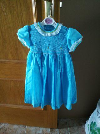 vestido bebé 18 meses