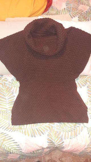 Jersey de lana Marron Berska