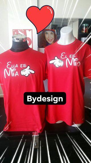 camisetas o sudaderas parejas