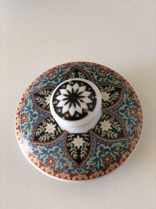 Cafetera vintage porcelana