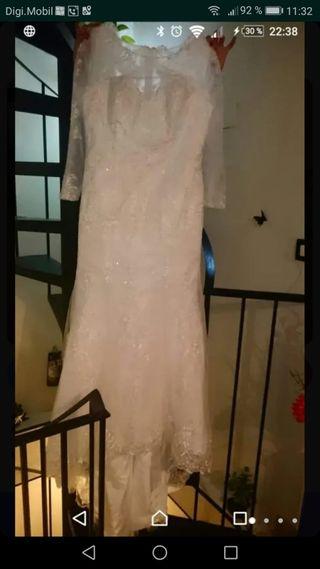 vestido de novia de segunda mano en sevilla en wallapop