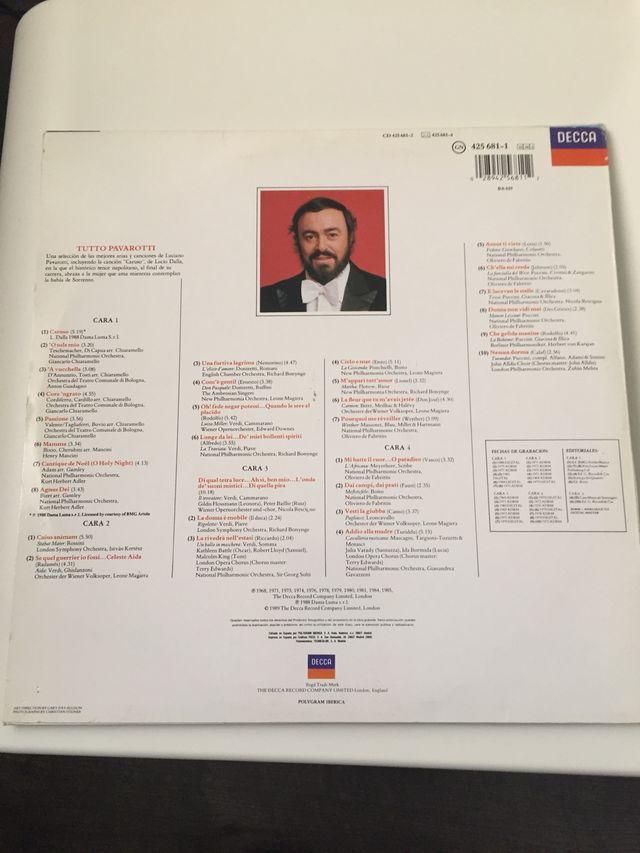 Tutto Pavarotti - Luciano Pavarotti (doble vinilo)