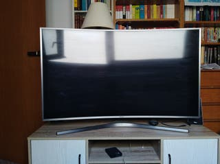 smart tv, pantalla samsung curva 49""