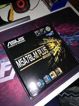 Placa base Asus M5A78L-M PLUS INTACTA