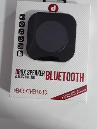 vendo Altavozes DBox Speaker Bluetooth