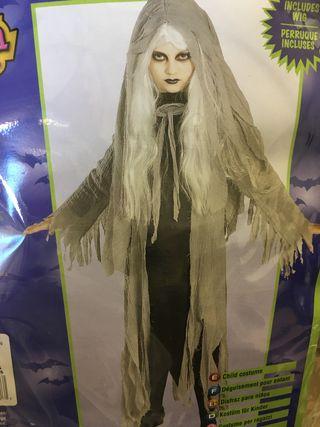 Disfraz niña zombi