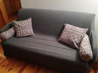 sofa cama 3 plazas madera maziza