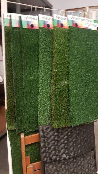 alfombra de cesped