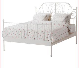 cama forja Ikea leirvik