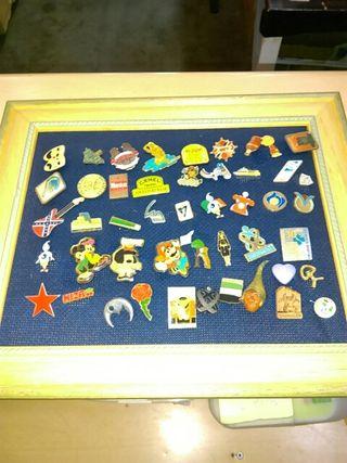 colección de pin