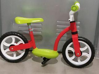 Bicicleta aprendizaje sin pedales eurekakids