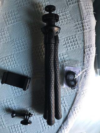 Trípode nuevo para cámara/gopro/móvil
