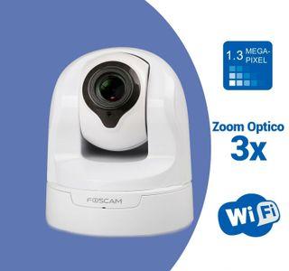 Foscam FI9826P W Camara IP WiFi HD Motorizada inte