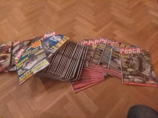 Lote 59 revistas Feder Pesca