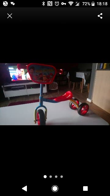 paw patrol sit and ride scooter