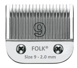 CABEZAL CUCHILLAS FOLK - Size 9, 2.0mm 19 puntas