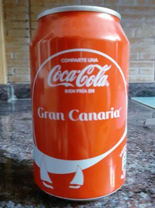 Lata de Coca Cola Gran Canaria