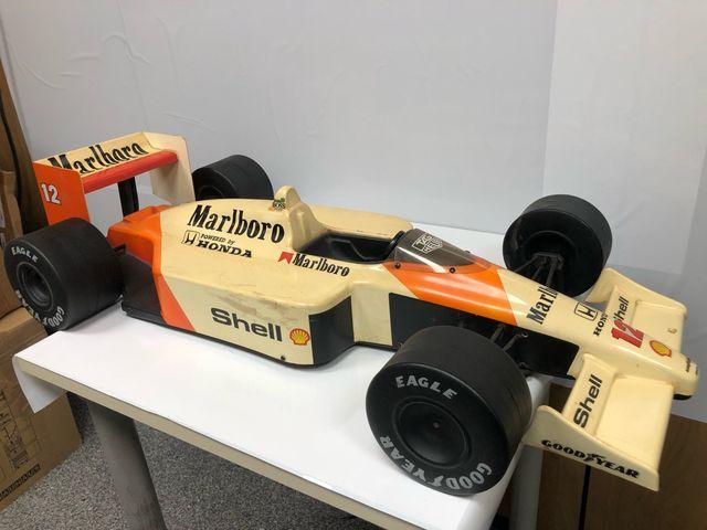 Fórmula 1 Mclaren honda mp4/4 escala 1/5