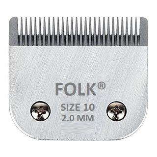 CABEZAL CUCHILLAS FOLK -Size 10, 1.6mm 28 puntas