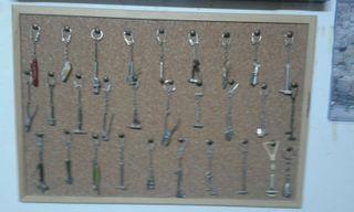 Llaveros de herramientas