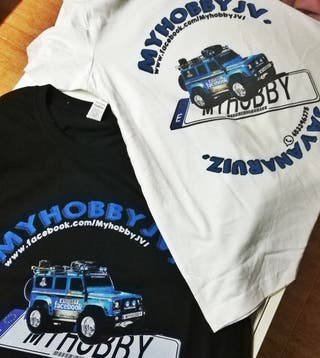 camisetas crawler rc personalizadas